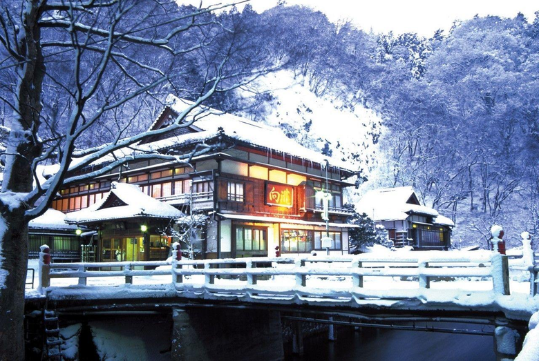 Japanese Winter Homes Wallpapers