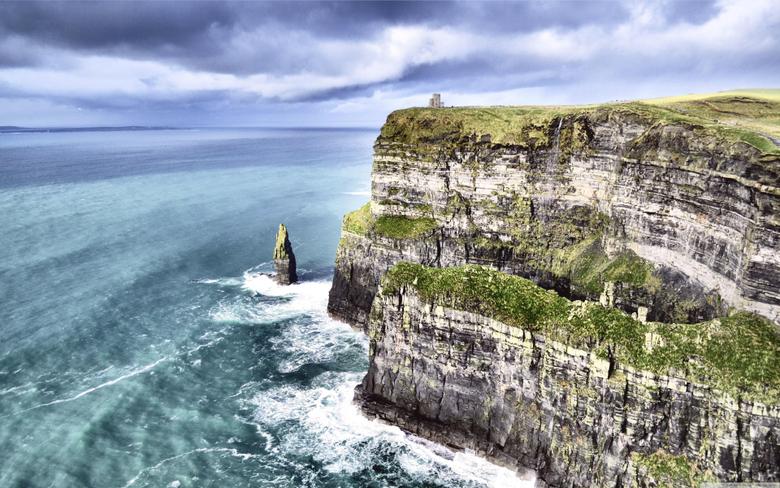 Cliff of Moher 4K HD Desktop Wallpapers for 4K Ultra HD TV Wide