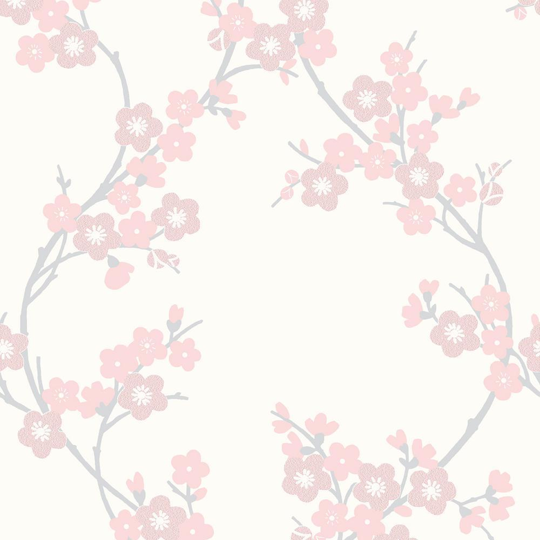 Graham Brown Scarlet Cherry Blossom Wallpapers
