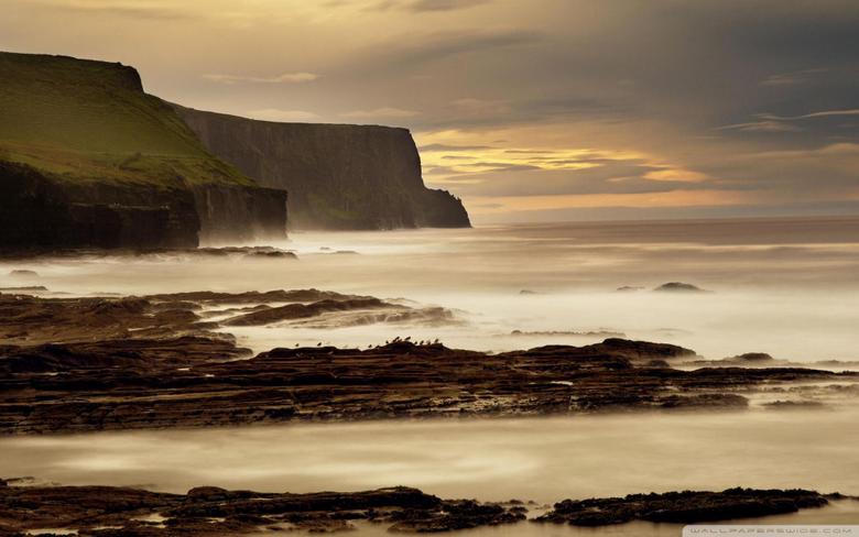 The Cliffs Of Moher Ireland 4K HD Desktop Wallpapers for 4K Ultra