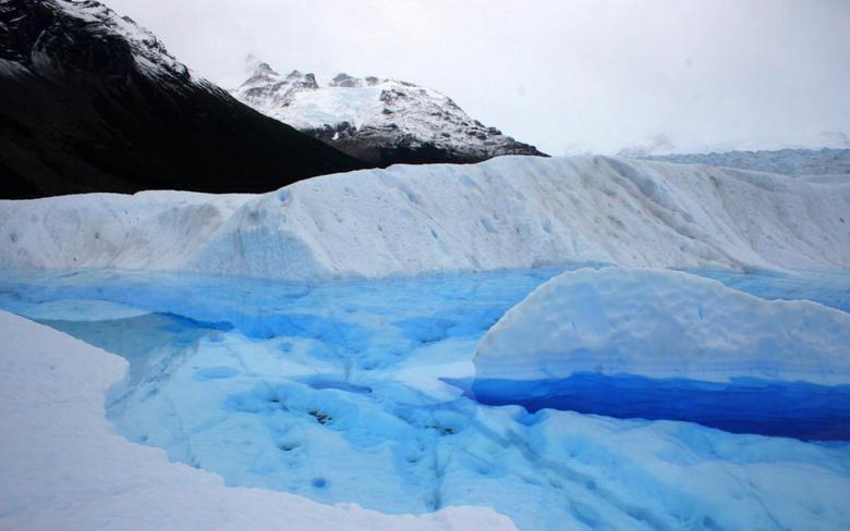 Perito Moreno Glacier Thinking Nice Wallpaper