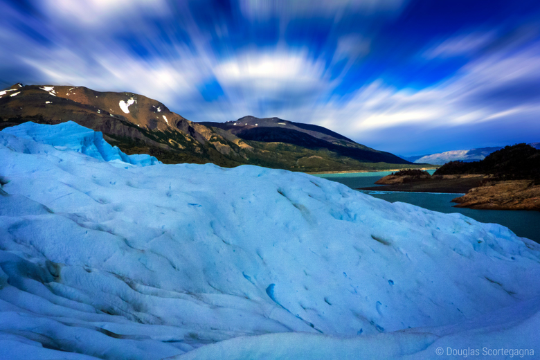 Long Exposure at Perito Moreno Glacier Patagonia Argentina wallpapers