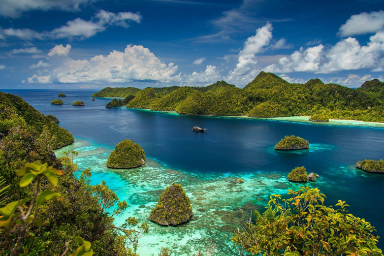 Raja Ampat West Papua Indonesia island sea ocean tropical g