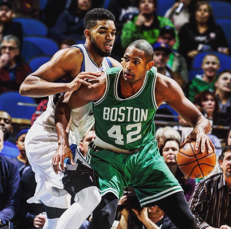 Al Horford and Karl Anthony Towns Both proud Dominicans