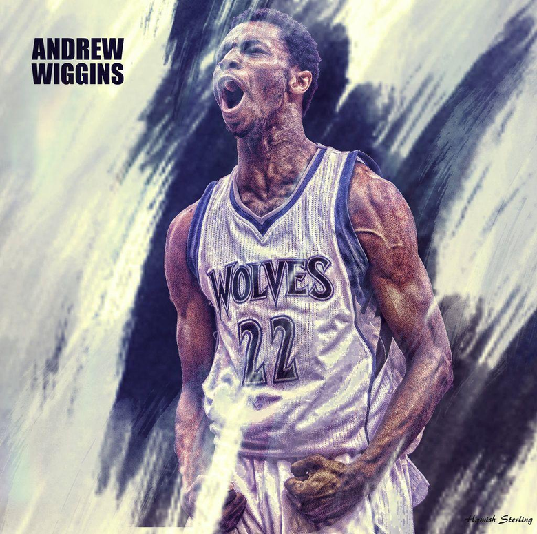 Andrew Wiggins wallpapers by HPS74