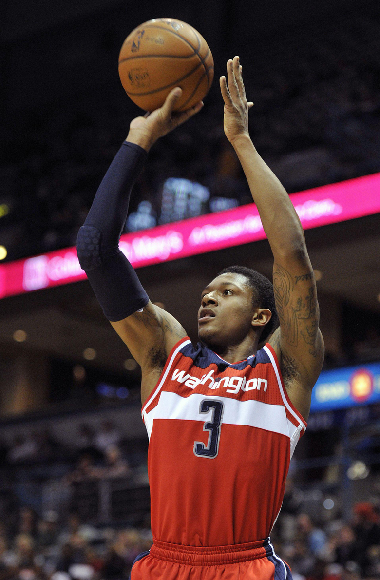 Bradley Beal shoots Wizards past Bucks for rare road win