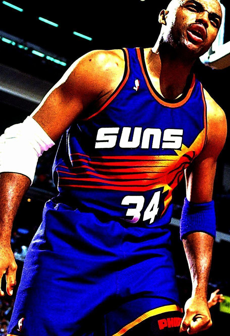 Charles Barkley best power forward of all time with no NBA