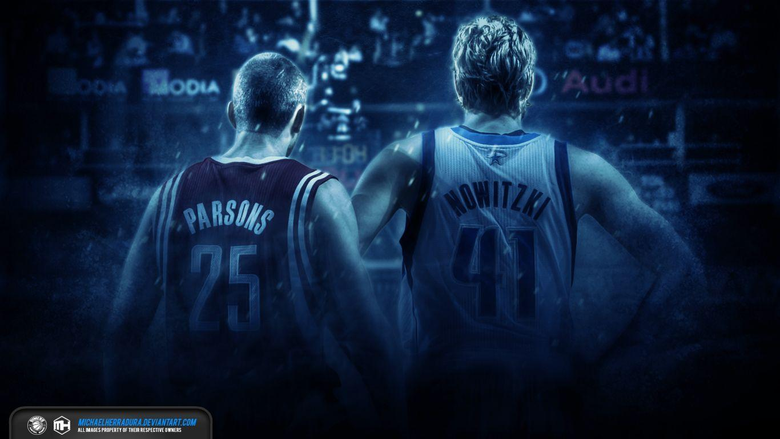 Chandler Parsons and Dirk Nowitzki Mavs wallpapers by