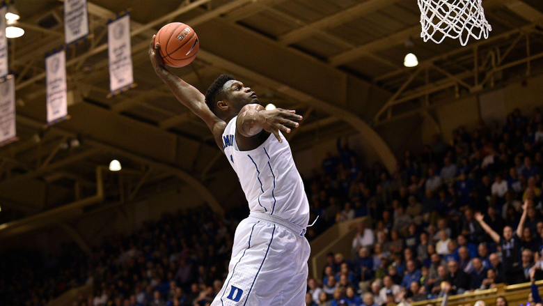 Duke s Zion Williamson rates his insane 360