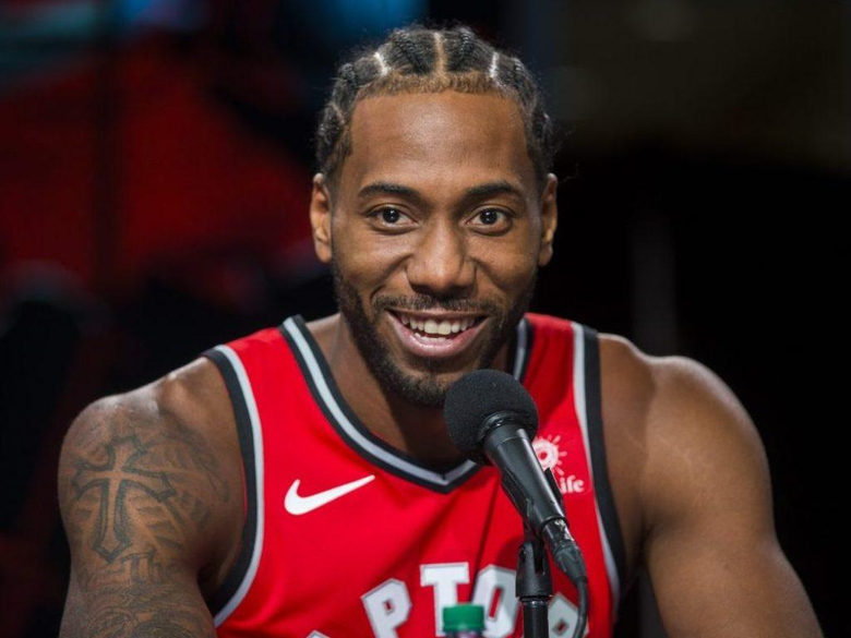Kawhi Leonard excited to be with Raptors and for what s next