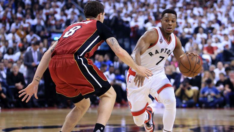 Kyle Lowry s 35 points against Heat send Raptors into East finals