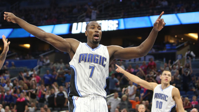 Serge Ibaka I m just going to ask the Magic fans to keep believing