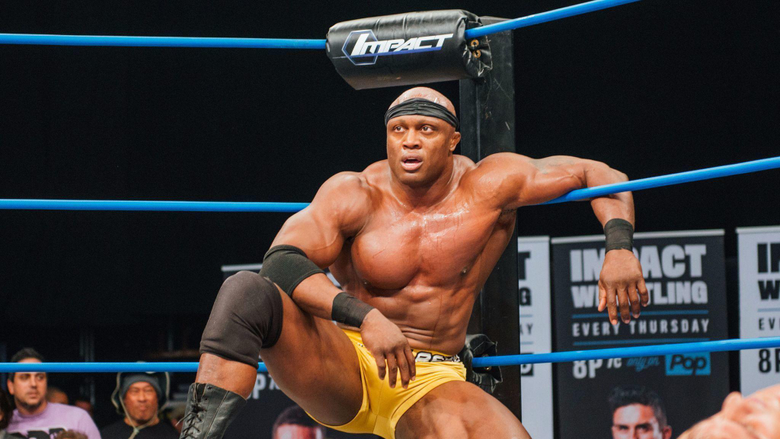 Bobby Lashley finishes up with Impact Wrestling at TV tapings