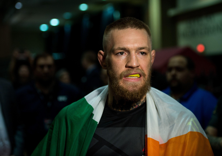 Dana White McGregor has to vacate championship if he retiring