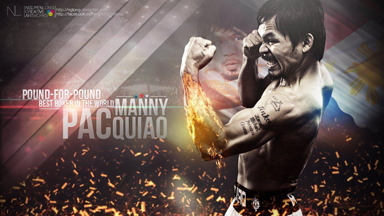 Manny Pacquiao Wallpapers 1366x768 by nglong