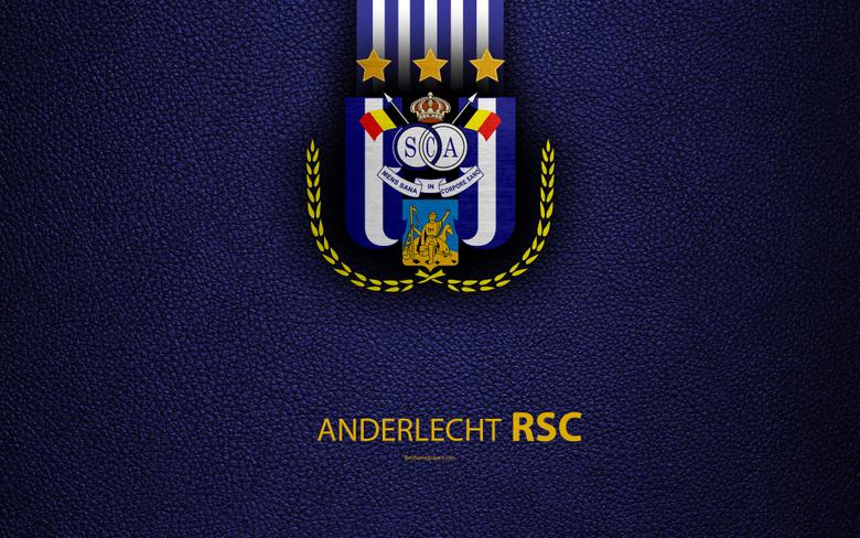 wallpapers Anderlecht FC 4K Belgian Football Club logo