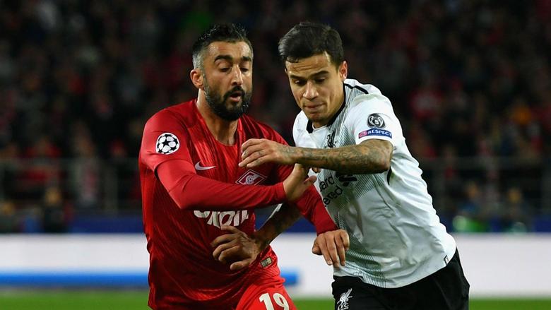 Liverpool vs Spartak Moscow TV channel stream kick