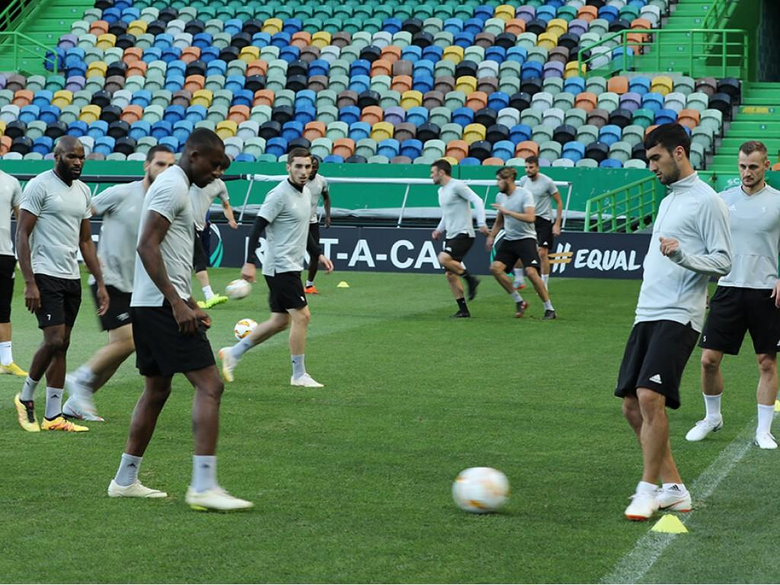 Qaraba FK completed preparetions match with Sporting