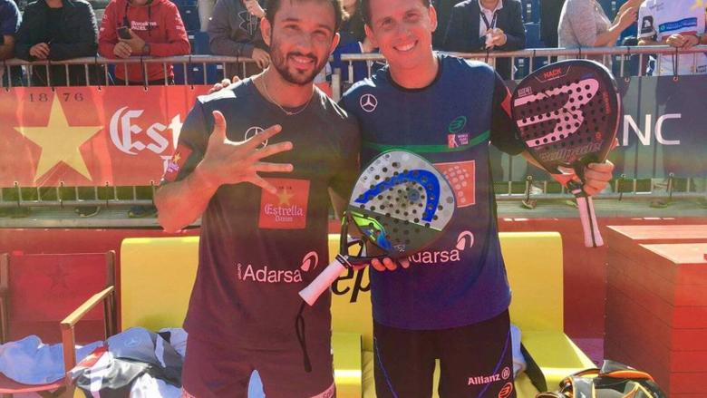 World Padel Tour Paquito Navarro y Sanyo frenan la hegemonía de los