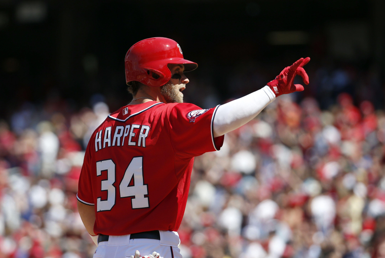 Bryce Harper s frequent walks indicative of comfort at the plate