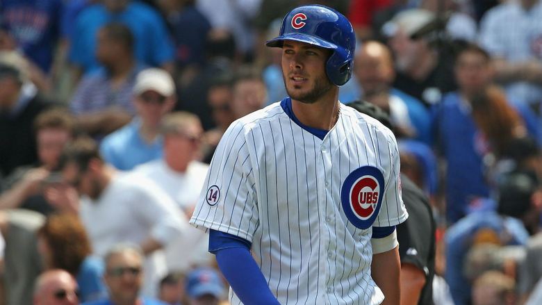 Cubs fan yells You suck at Kris Bryant after third strikeout