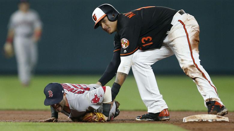 Red Sox pitcher Matt Barnes continues feud throws at Manny