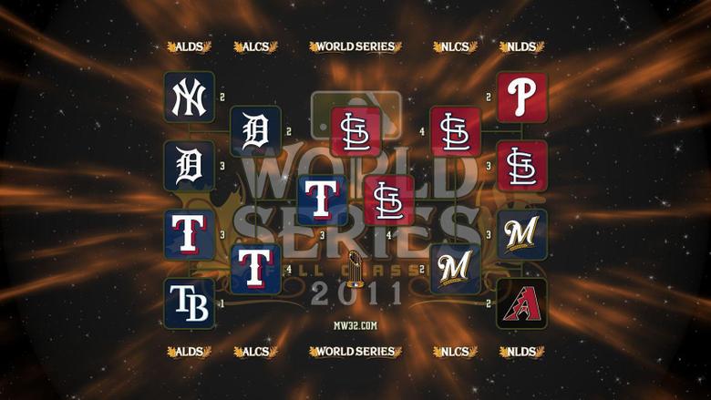 MonkeyWrench32 2011 MLB Postseason Wallpapers