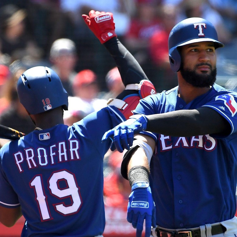 MLB Trade Rumors Nomar Mazara Jurickson Profar in play per report