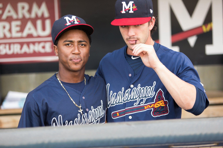 Ozzie Albies and Dansby Swanson