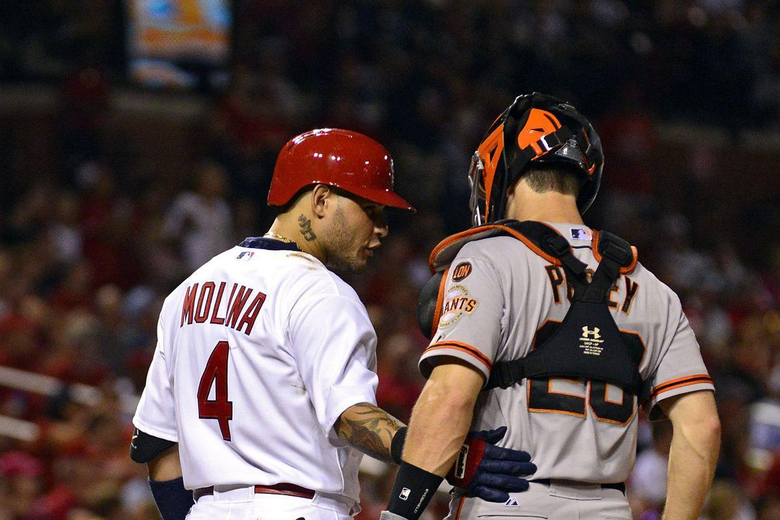 Is Yadier Molina really the NL s catcher