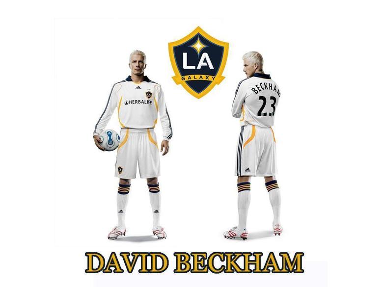 WALLPAPERS Beckham en el LA Galaxy