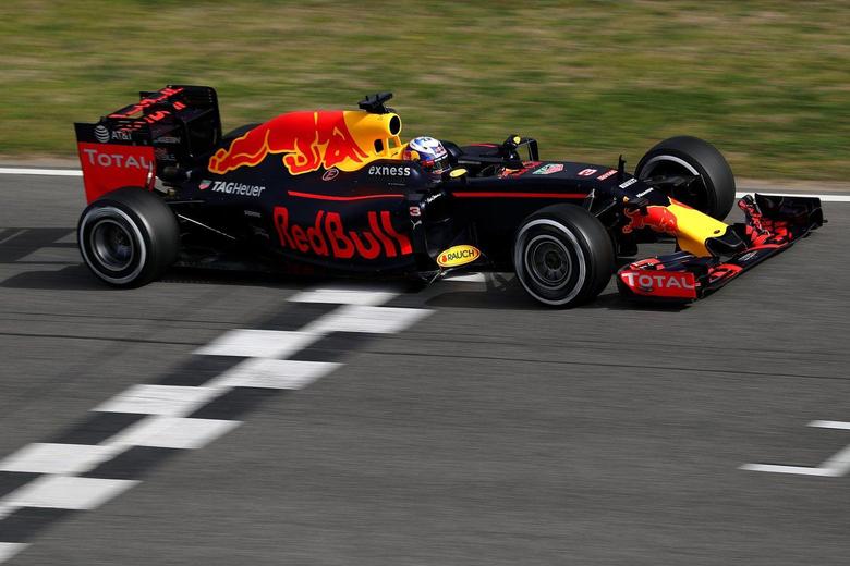 Red Bull Racing RB12 testing video