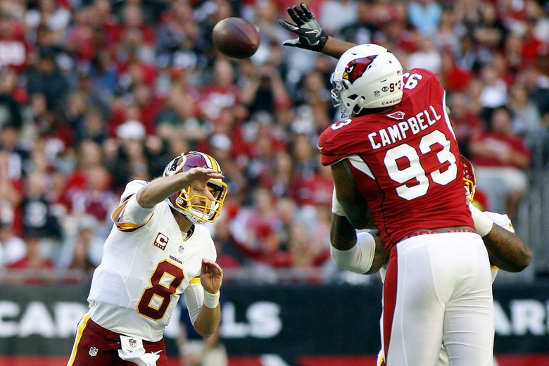 Jaguars sign Calais Campbell to 14 million per year deal