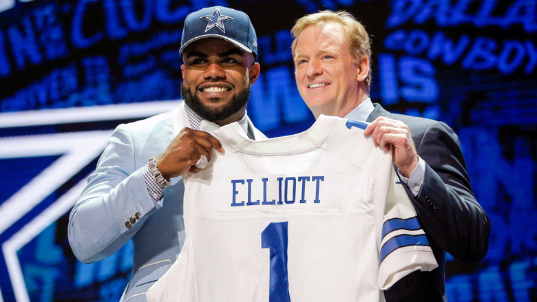 Cowboys thinking Super Bowl with Ezekiel Elliott selection