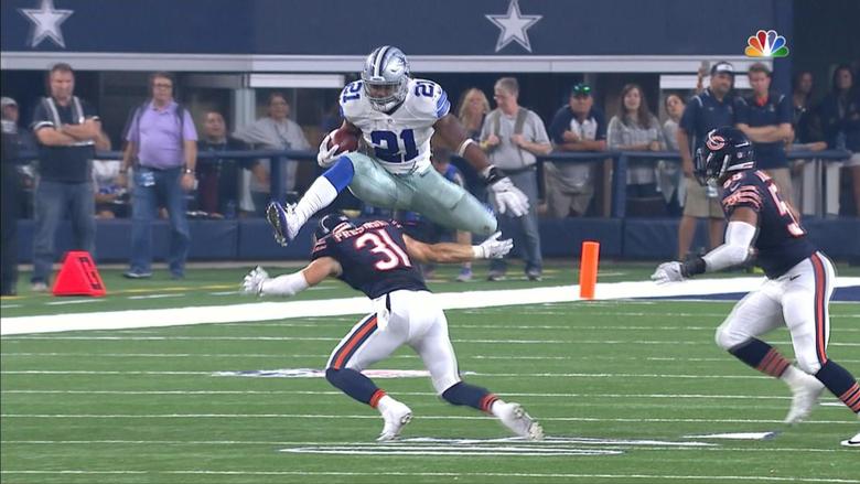 Ezekiel Elliott and Deion Jones star in best runs of NFL week