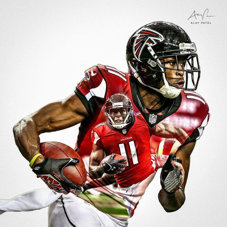 Julio Jones WR Atlanta Falcons Design by Alay Patel March