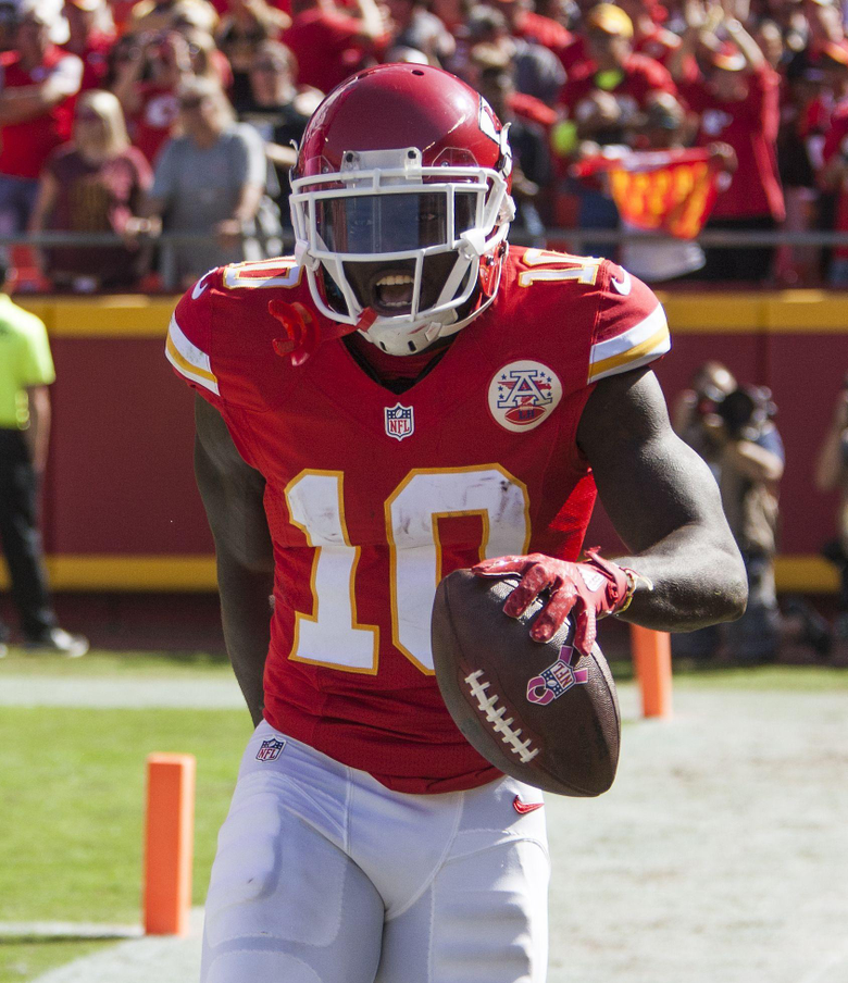 Notebook Tyreek Hill shifts workload to offense from special