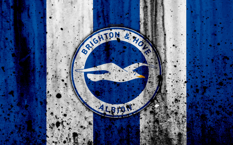 wallpapers FC Brighton and Hove Albion 4k Premier League