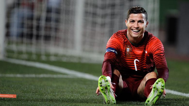 Cristiano Ronaldo Soccer Real Madrid La Liga Football Pitch