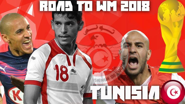 Tunisia Football Road to Russia 2018