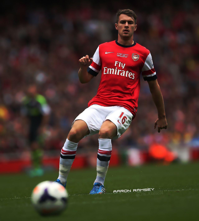Poster Aaron Ramsey Arsenal by TheCristinaChuck