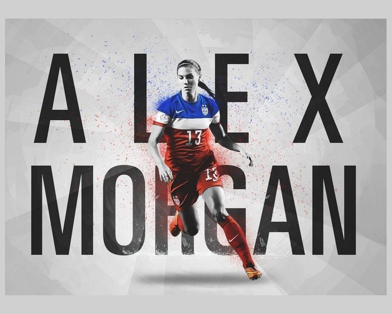 Great Alex Morgan Wallpapers