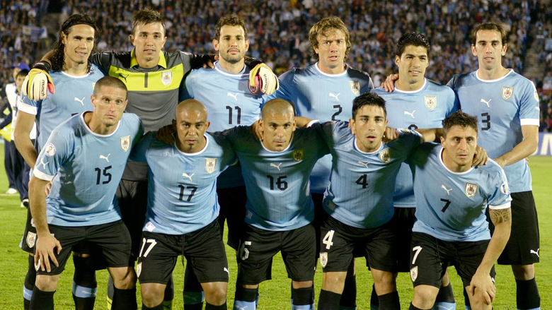 Uruguay soccer team roster 2014 World Cup