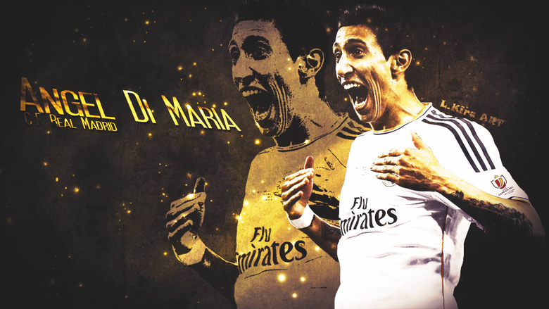 Angel Di Maria wallpapers HD backgrounds Facebook Covers