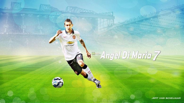 Angel Di Maria wallpapers HD backgrounds desktop iPhones