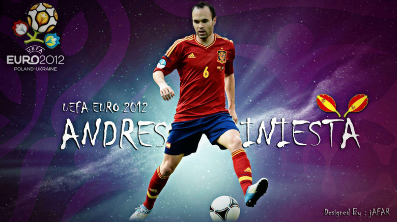 Barcelona Andres Iniesta wallpapers and image