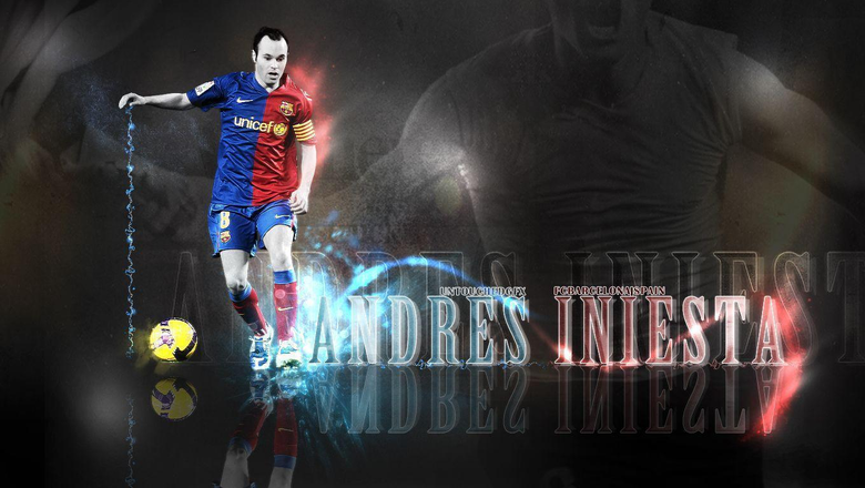 Wallpapers Andres Iniesta 09 by UntouchedDesigns