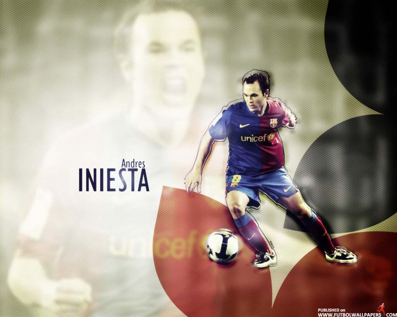 Andres Iniesta Barça Wallpapers and Photo Gallery