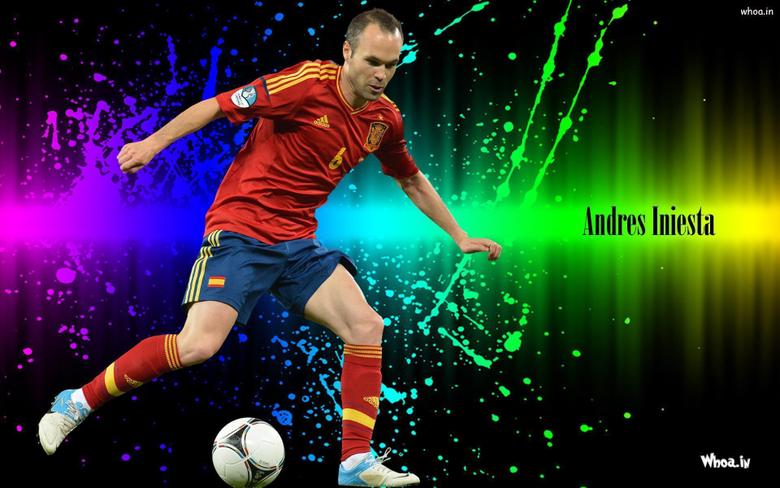 Andres Iniesta Desktop Wallpapers HD