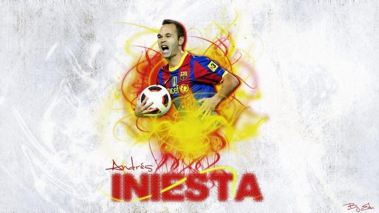 Andres Iniesta Wallpapers 2013